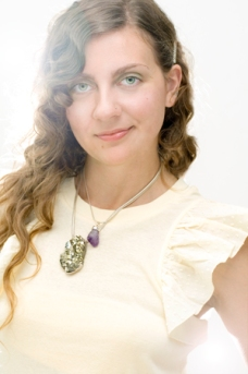 Portrait of Jewelry designer Lydia Lukidis