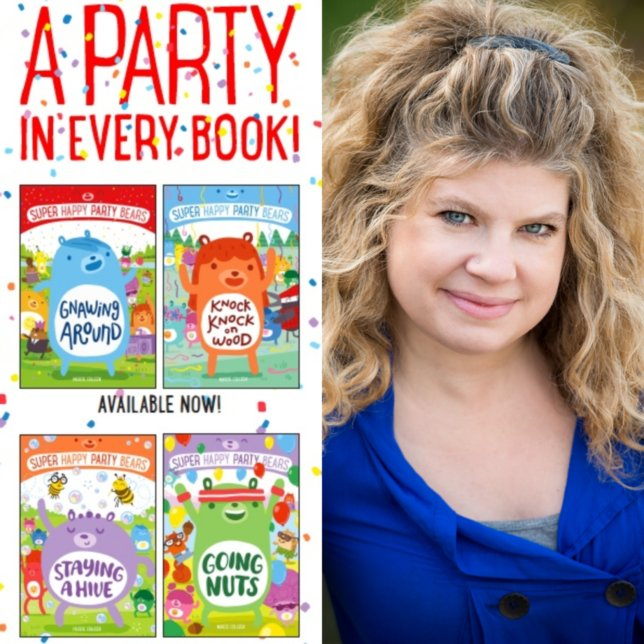 Super Happy Party Bears Books and Marcie Colleen